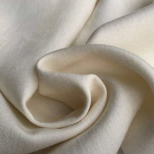 Load image into Gallery viewer, 58 PFD Off White Merino Lyocell Tencel Wool Blend Woven Fabric By the Yard