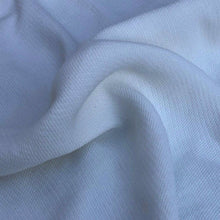 "Load image into Gallery viewer, 58"" PFD White 100% Tencel Lyocell Faille Ghost Woven Fabric By the Yard - APC Fabrics"