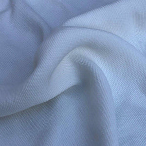 "58"" PFD White 100% Tencel Lyocell Faille Ghost Woven Fabric By the Yard - APC Fabrics"