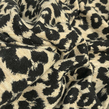 Load image into Gallery viewer, 58 Rayon Spandex Lycra Stretch Blend Cheetah Print Knit Fabric By the Yard - Fabric