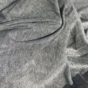 58 Shiny Glitter Gray Grey 100% Acetate Lame Metallic Woven Fabric By the Yard