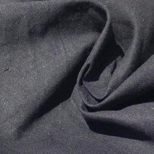 "60"" 100% Cotton Broadcloth Black Face Mask Woven Fabric By the Yard - APC Fabrics"