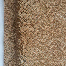 Load image into Gallery viewer, 60 Brown Copper Gold Scale Rough and Bumpy Upholstery Vinyl Heavy Weight Fabric By the Yard