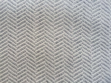 "Load image into Gallery viewer, 60""  Gray & White 100% Rayon Herringbone Double Faced Woven Fabric By the Yard - APC Fabrics"