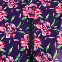 "Load image into Gallery viewer, 60"" Modal Spandex Blend Colorful Floral Print Jersey Knit Fabric By the Yard - APC Fabrics"
