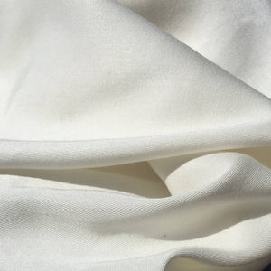 60 PFD White 100% Lyocell Tencel Gabardine Twill Woven Fabric By the Yard
