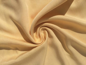 "60"" Pineapple Yellow 100% Lyocell Tencel Gabardine Twill Woven Fabric By Yard - APC Fabrics"