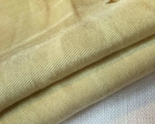 Load image into Gallery viewer, 60 Straw Beige 100% Lyocell Tencel Gabardine Twill Medium Woven Fabric By Yard