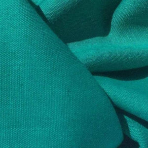 60 Teal Blue Lyocell Tencel Linen Blend Woven Fabric By the Yard