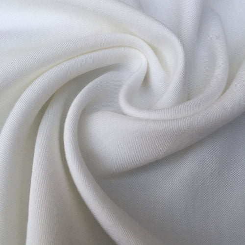 60 Winter White 100% Lyocell Tencel Gabardine Twill Medium Woven Fabric By Yard