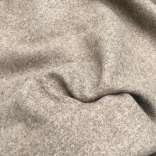 "Load image into Gallery viewer, 62"" Camel Beige 100% Wool Heavy Woven Fabric By the Yard - APC Fabrics"
