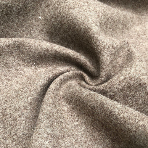 62 Camel Beige 100% Wool Heavy Woven Fabric By the yard