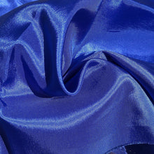 Load image into Gallery viewer, 62 Ocean Blue Glossy Shiny 100% Polyester Woven Fabric By the Yard