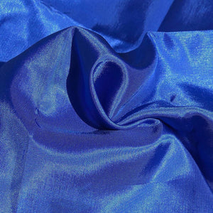 "62"" Ocean Blue Glossy & Shiny 100% Polyester Woven Fabric By the Yard - APC Fabrics"