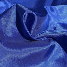 "Load image into Gallery viewer, 62"" Ocean Blue Glossy & Shiny 100% Polyester Woven Fabric By the Yard - APC Fabrics"