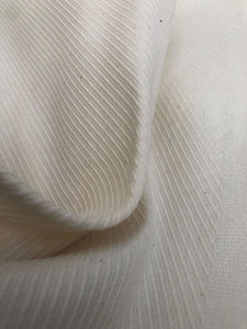 "62"" PFD Ivory White Cotton & Hemp Bull Denim Greige Goods Heavy Woven Fabric - APC Fabrics"