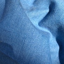 "Load image into Gallery viewer, 58"" Solid Cotton Denim Indigo Sky Blue Medium Woven Fabric By the Yard - APC Fabrics"