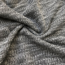 "Load image into Gallery viewer, 52"" French Terry Cotton Two Toned Pepper Heavy Sweater Knit Fabric By the Yard - APC Fabrics"