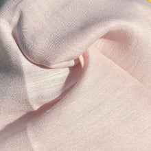 "Load image into Gallery viewer, 54"" Linen & Cotton Pink 4 OZ Light Apparel Woven Fabric By the Yard - APC Fabrics"