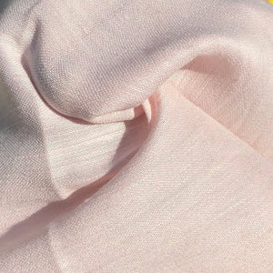"54"" Linen & Cotton Pink 4 OZ Light Apparel Woven Fabric By the Yard - APC Fabrics"
