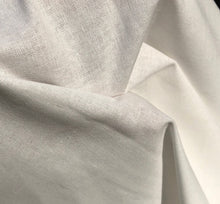 "Load image into Gallery viewer, 60"" 100% Cotton 5 OZ Sheeting White Apparel & Face Mask Woven Fabric By the Yard - APC Fabrics"