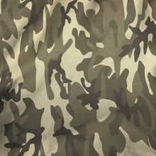 "Load image into Gallery viewer, 60"" Cotton Rayon 6 OZ Twill Camouflage Camo Print Apparel & Face Mask Woven Fabric By th e Yard - APC Fabrics"
