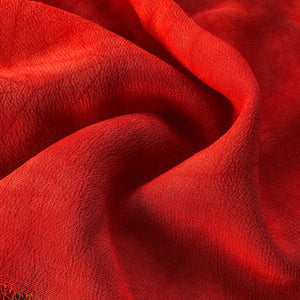 "44"" Red 100% Tencel Lyocell Cupro Georgette 4.5 OZ Light Woven Fabric By the Yard - APC Fabrics"