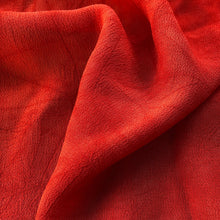 "Load image into Gallery viewer, 44"" Red 100% Tencel Lyocell Cupro Georgette 4.5 OZ Light Woven Fabric By the Yard - APC Fabrics"