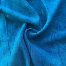 "Load image into Gallery viewer, 46"" Ocean Blue 100% Tencel Lyocell Cupro Georgette 4.5 OZ Light Woven Fabric By the Yard - APC Fabrics"