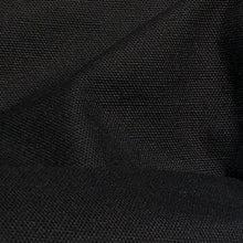 "Load image into Gallery viewer, 60"" 100% Cotton Canvas 7 OZ Pitch Black Apparel and Face Mask Woven Fabric By the Yard"