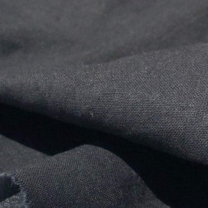 "60"" 100% Cotton Sheeting Black Light Woven Face Mask Fabric By the Yard - APC Fabrics"