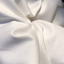 "Load image into Gallery viewer, 60"" 100% Pima Cotton Twill 6 OZ Tight Weave White Apparel & Face Mask Woven Fabric By the Yard - APC Fabrics"