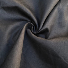 "Load image into Gallery viewer, 60"" 100% Cotton Twill 6 OZ Black Apparel & Face Mask Woven Fabric By the Yard - APC Fabrics"