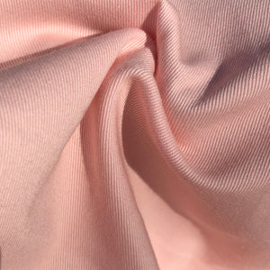 "60"" 100% Pink Cotton Twill 7 OZ Apparel & Face Mask Woven Fabric By the Yard"