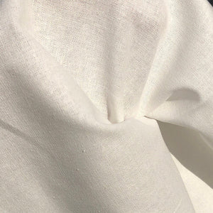 "60"" 100% Cotton 5 OZ Sheeting White Apparel & Face Mask Woven Fabric By the Yard - APC Fabrics"