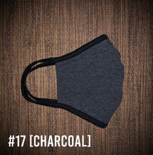 Load image into Gallery viewer, Charcoal Gray USA Made Face Mask & Face Wear Jersey Knit Spandex
