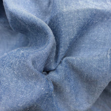 "Load image into Gallery viewer, 58"" 100% Tencel Lyocell Twill Enzymed Wash Medium Weight 6 OZ Sky Blue Woven Fabric By the Yard"