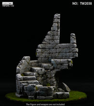 Load image into Gallery viewer, Twelve World 1/12 - Castle Ruins Diorama Base