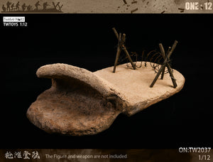 Twelve World 1/12 - Desert Conflict Diorama Base