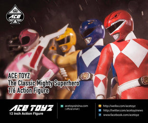 Ace Toyz 1/6 - The Classic Mighty Superhero Ranger 5 Pack Set