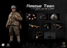 Load image into Gallery viewer, POP Toys 1/12 - WWII US Rescue Team 3-Pack