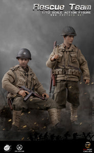 POP Toys 1/12 - WWII US Rescue Team 3-Pack