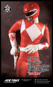 Ace Toyz 1/6 - The Classic Mighty Superhero Red Ranger