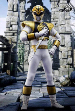 Ace Toyz 1/6 - The Classic Mighty Superhero White Ranger