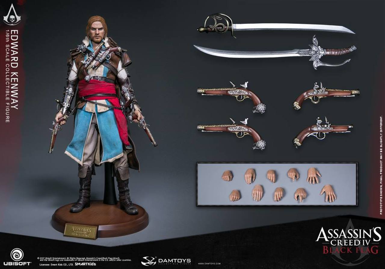 Damtoys 1 6 Sixth Assassin S Creed Black Flag Edward Kenway