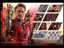 Load image into Gallery viewer, Hot Toys 1/6 MMS528 D33 - Avengers Endgame: Iron Man Mark LXXXV Battle Damage Version
