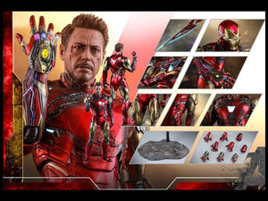 Hot Toys 1/6 MMS528 D33 - Avengers Endgame: Iron Man Mark LXXXV Battle Damage Version