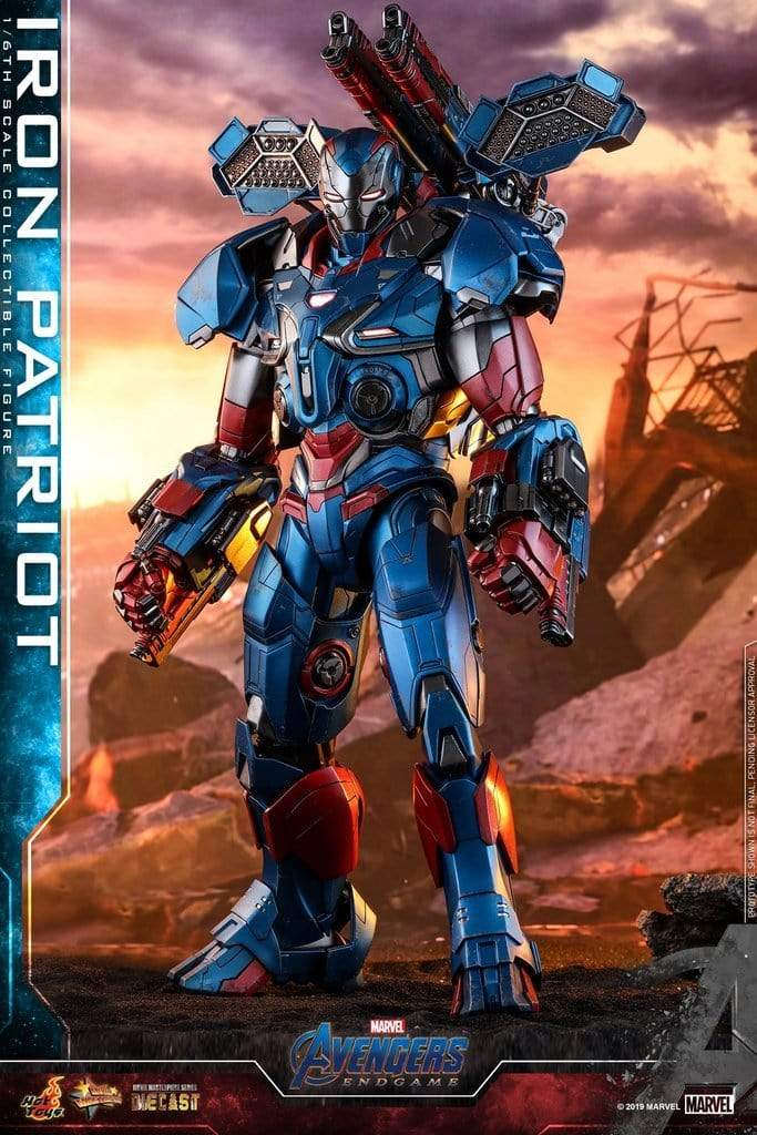 Hot Toys 1/6 MMS547 D34 - Avengers Endgame: Iron Patriot