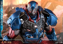 Load image into Gallery viewer, Hot Toys 1/6 MMS547 D34 - Avengers Endgame: Iron Patriot