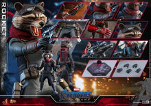 Load image into Gallery viewer, Hot Toys 1/6 MMS548 - Avengers Endgame: Rocket